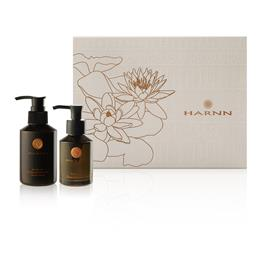 "HARNN Water Lily - ULTRA DETOX SET - Detoxifying Face Wash & Facial Massage Oil     ""PROMO"""